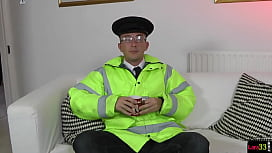 Facialized UK milf fucked by police officer
