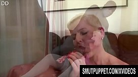 Smut Puppet - Matures Show off Their BBC Sucking Skills Compilation Part 2