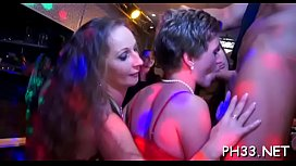 Lots of group-sex on the dance floor