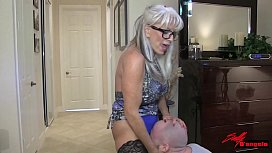 Face Sitting my son  &quot_mommy don'_t make me smell your ass&quot_  #MILF #MATURE  Sally D'_angelo