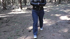 Natasha posing #12 In a forest