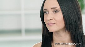 PrivateBlack - Young Gina Ferocious Bangs Big Black Cock!