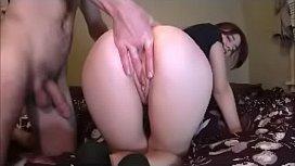 Amateurs Digging Deep Into Her Asshole