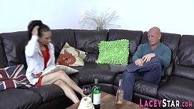 British gran in threesome with ebony milf