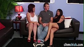 Cfnm group jerk for jizz