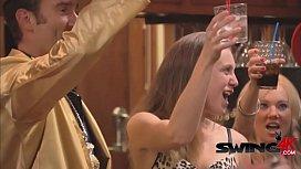 Swinger mansion goes full blown orgy!