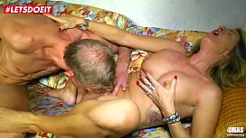LETSDOEIT - German Mature Wife Abused by Her Lovers Cock