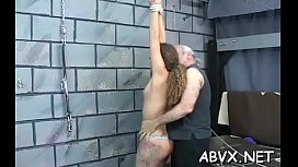 Juvenile honey loves the rough play on her amateur pussy
