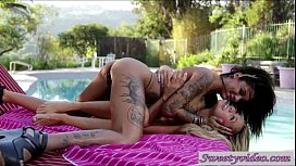 Watch porn lesbian licking pussy