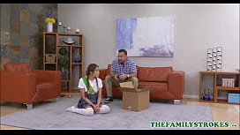 Tiny Young Asian Teen Girl Scouts Stepdaughter Fucked By Stepdad