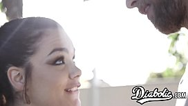 Kimber Woods penetrated after stepbro seduction