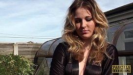 PASCALSSUBSLUTS - Facial Rachel OBrien fucking maledom cock