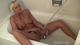 Horny MILF Barbie Masturbating