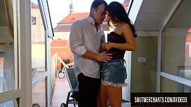 Brunette Babe Claudia Rossi Gets Sensually Licked and Drilled in Both Holes