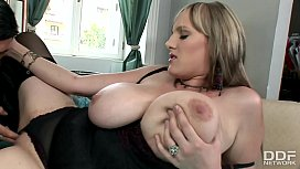 Stefani'_s Big Titty Sexcapade Ending With A Blowout