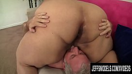Huge Bellied Plumper Lorelai Givemore Squashes His Face n Drains His Balls