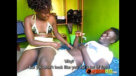 Black Horny Amateur Teen Couple First Time