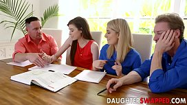 Grae Stoke , Abby Adams In Dads Divide The d. Swap Equation