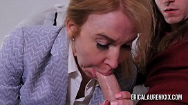Nurse Erica Lauren makes a house call for a y. guy