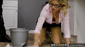 Brazzers - Big Tits at Work - The Clumsy Intern scene starring Jessa Rhodes and Xander Corvus