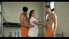 Sexy Police woman have threesome in prison -----&gt_ not be shy!! PART 2 free here www.sweetdreams69.site