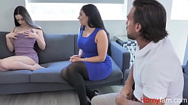Mom And Dad Fuck Horny Teen Daughter To Help Her- Sheena Ryder, Jenna Ross