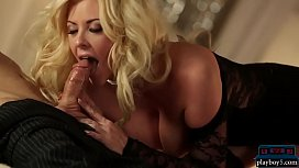 Big tits lingerie MILF loves to bang during the holidays