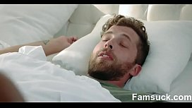 Caring Stepmom Cures Son With Blowjob  FamSuck.com