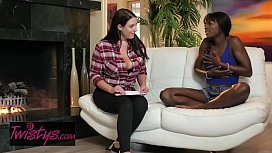 When Girls Play - (Ana Foxxx, Angela White) - Milk Chocolate - Twistys
