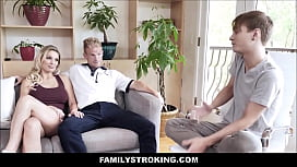 Big Tits Blonde MILF Step Mom Kenzie Taylor Makes Good On Promise To Fuck Step Son If He Graduates From College