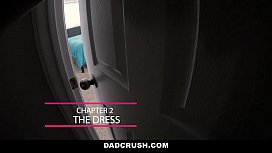 DadCrush - Caught My Step-Daughter Stripping On Webcam