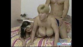 BBW German Threesome
