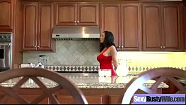 Sexy Busty Mommy (veronica rayne) Enjoy Hardcore Bang video-29