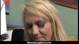 Huge Black Meat Going into Horny Mom 30