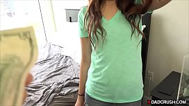 Stepdad wanted to fuck his stepdaughter for a long time