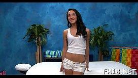 naked massage video