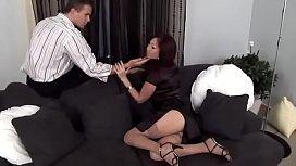 Asian momma fucking hard