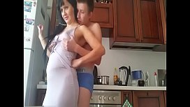 Stepmom and son hidden cam