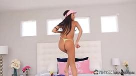 Stunning Teen Spinner Hime Marie Toys Her Wet Slit &amp_ Fucks