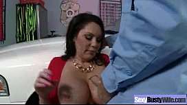 Hardcore Sex Tape With Round Big Tits Horny Wife movie-13
