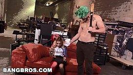 BANGBROS - Marsha May and J-Mac in Harley Quinn \/ Joker Porn Parody