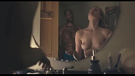 Cabin Fear (Seclusion):  Nude Girl Shower Scene