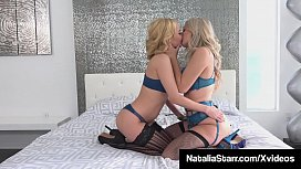 Lesbians Natalia Starr &amp_ Aaliyah Love Finger &amp_ Tongue Fuck!