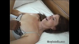 Black cock up my wife'_s ass - Black ass in my wife'_s mouth!