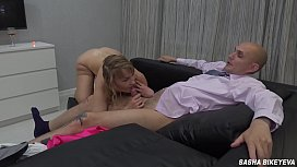 The most insane amateur cumshot compilation from russian cumswallow slut Sasha Bikeyeva - Part 2