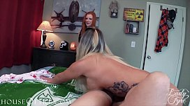 Reluctant Stepmom joins young couple -POV Taboo Cali Carter &amp_ Lady Fyre