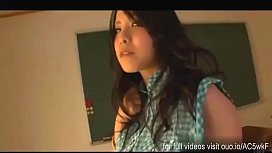 Horny Young Teacher Sucks the Newcomer'_s Cock inside her Classroom