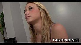 Engaging honey Shelby Paige blows big boner