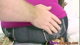 Black teen boobs spermed