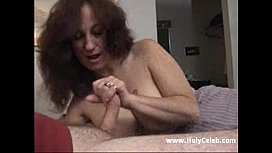 Cougar Snags Stud in Her Hairy Bush